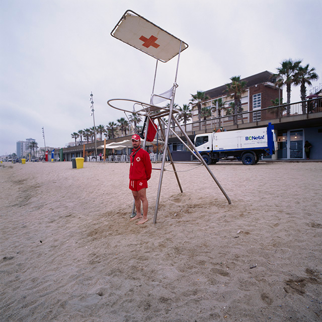 Lifeguard, Barceloneta